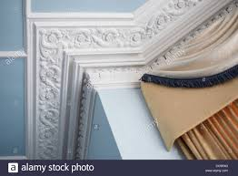 decorative ceiling corner cornice stock photo royalty free image