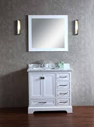 Stufurhome Newport Grey  Inch Single Sink Bathroom Vanity With - 36 inch single sink bathroom vanity