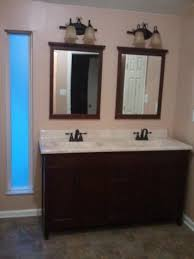 Foremost 60 Inch Vanity Foremost Ashburn 60 In W Bath Vanity Cabinet Only In Mahogany