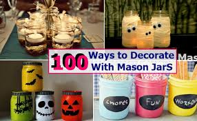 100 ways to decorate with jars home so