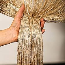 Amazon Door Curtains Buy 1 0x2 0m Glitter String Bead Door Curtain Panels Fly Screen