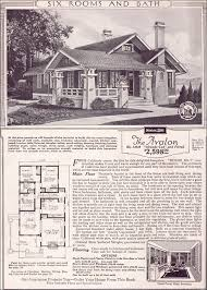 small craftsman bungalow house plans avalon 1923 sears kit houses california bungalow small