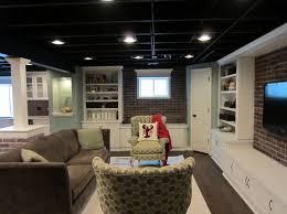 paint unfinished basement ceiling black cute paint color style in