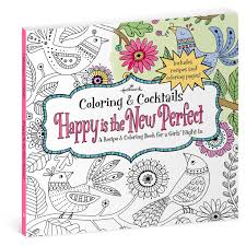 happy is the new perfect recipe u0026 coloring book for girls u0027 night
