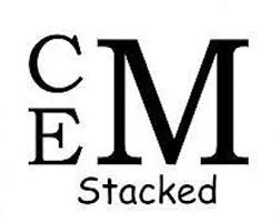stacked monogram stacked font etsy