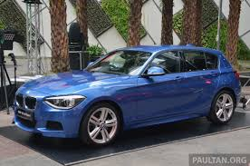 bmw 125i price bmw 1 series f20 launched in malaysia priced from rm170k to 260k