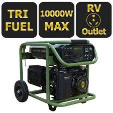 Read Write Think Generator Sportsman 10 000 Watt Tri Fuel Powered Electric Start Portable