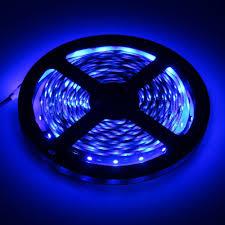blue led strip lights 12v ip65 waterproof 5m 300led 3528 led strip 12v flexible light 60led