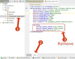 tutorial android xml testing activity in android studio part 3