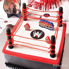 wwe fondant cake how to cake ideas wwe party ideas boys