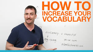 How How To Increase Your Vocabulary Youtube