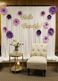 bridal shower decor bridal shower decor bridal shower decor special event decor purple
