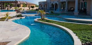 Backyard Pool With Lazy River Luxury Pool Pump The Riverflow Swim Current System