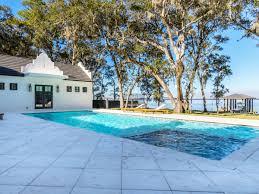 home pool for sale comfortable bayfront florida home coastal living