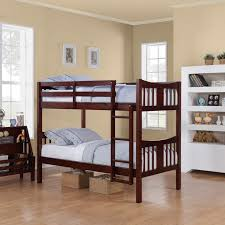 furniture modern look of crib bunk bed for beloved baby decor