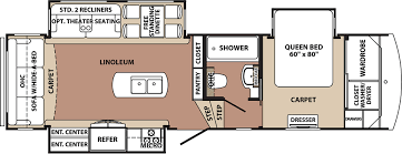 blue ridge fifth wheels trailers floor plans access rv