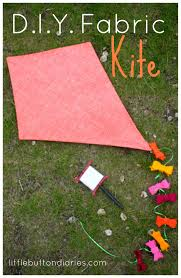 diy fabric kite craft by little button diaries crafty