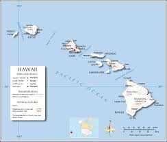 map of hawaii cities map usa with hawaii major tourist attractions maps