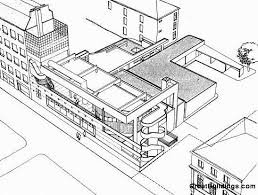 great buildings drawing st antoine hospital kitchen