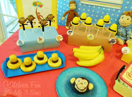 curious george birthday party curious george cake decorating ideas cake image idea just
