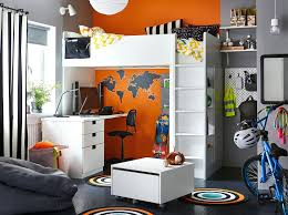 Grey And White Kids Room Decoration Kids Room Idea A Black Grey Orange And White Bedroom For