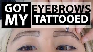 eyebrow tattoo before and after everything you need to know 3d