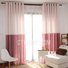 White With Pink Polka Dot Curtains Cotton Decorative Pink And White Polka Dot Curtains