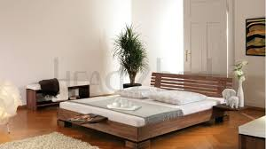 Solid Wood Bed Frames Uk Solid Wood Beds Hasena Woodline Tida Litto Solid Wooden Bed