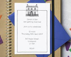 wedding invitations liverpool liverpool etsy uk
