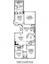 Narrow House Plans With Garage Sunderland Narrow Floor Plans Luxury Floor Plans