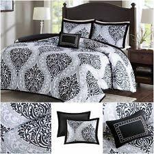 black and white bedding ebay