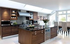 Modern American Kitchen Design Smallbone Of Devizes Walnut U0026 Silver Kitchen Collections