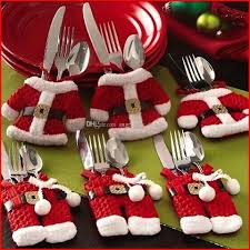christmas decoration christmas kitchen cutlery suit silverware