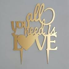 all you need is cake topper wedding cake toppers laser cut cake topper ireland dezign worx