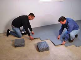 basement floor tiles over concrete basements ideas
