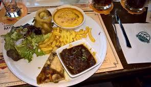 3 cuisine gourmande assiette gourmande 3 brasseurs incontournable photo de les 3