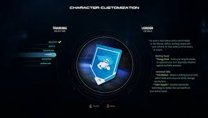 mass effect andromeda training selection guide blogs gamepedia
