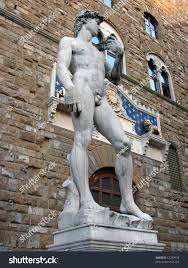 michelangelo s david michelangelos david sculpted 1501 1504 masterpiece stock photo