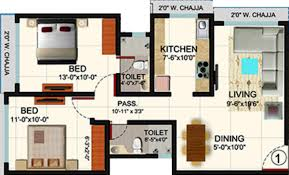 2bhk Plan For 500 Sq Ft 1105 Sq Ft 2 Bhk 2t Apartment For Sale In Romell Peyton Place