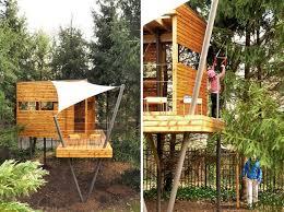 Cool Tree Houses Best 25 Treehouses For Kids Ideas On Pinterest Treehouse Kids