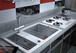 modern stainless kitchen sink for elegant kitchen fixtures with