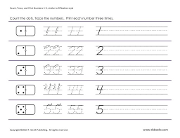 all worksheets dotted numbers worksheets free printable