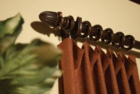 Decorative Curtain Finials Simple Decorative Drapery Rods And Finials Home Design Awesome
