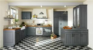 lapeyre cuisine bistrot meuble cuisine bistrot cuisine style bistrot carreaux modernes