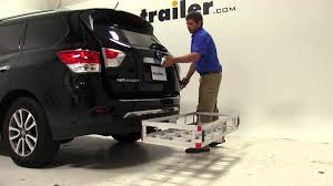nissan pathfinder 2014 youtube review of the maxxtow hitch cargo carrier on a 2014 nissan