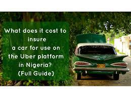 lexus cars in nigeria uber taxi comprehensive motor insurances prices in nigeria