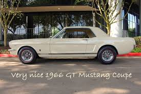 coupe mustang 1966 ford mustang gt coupe