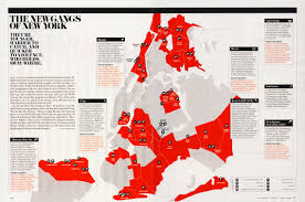 Gang Map Usa by The New Gangs Of New York New York Magazine M A P S Pinterest