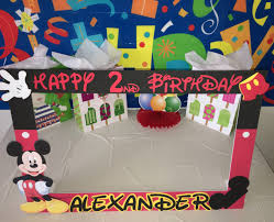 mickey mouse photo booth mouse party photo booth frame