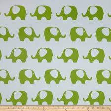 Blackout Drapery Fabric Rca Elephant Blackout Drapery Fabric Green Discount Designer